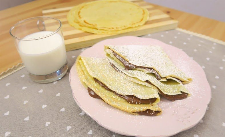Ricetta crepes 300 ml latte